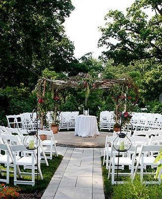 Outdoor Ceremony Seating Trends Reinvent Your