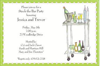 stock the bar invites