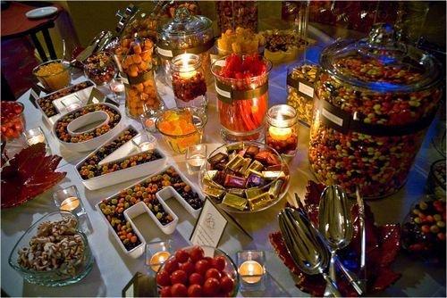 Absolutely Fabulous Weddings Custom Buffet Candy Bars